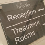 New You reception sign